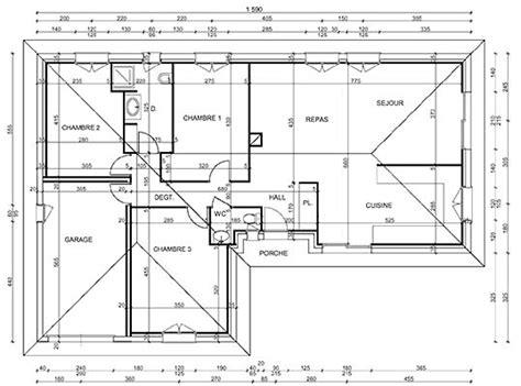 Echelle Plan Maison by 700 Plan Telecharger
