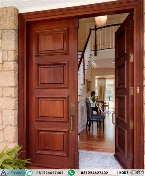 Hp Pintu jual pintu kayu jati minimalis jepara hp 319 pintu