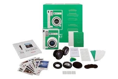 lomo'instant automat camera and lenses (cabo verde edition