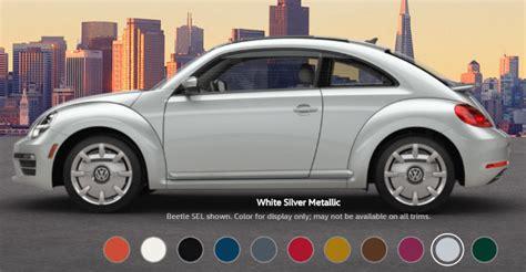 2017 volkswagen beetle paint colors