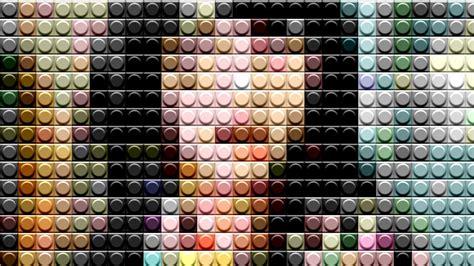 pattern lego photoshop convertir una imagen a lego photoshop tutorial youtube