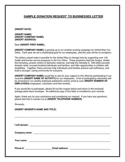 7 sample solicitation letter for donations letter envelope