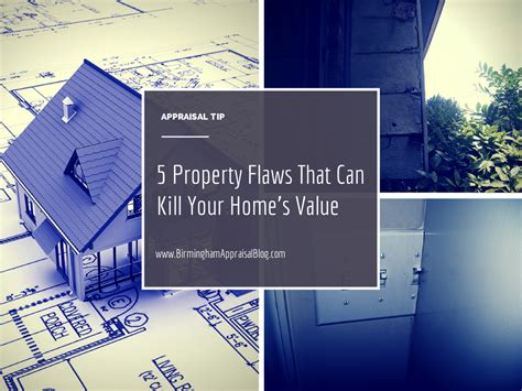 five property flaws that can kill your home s value