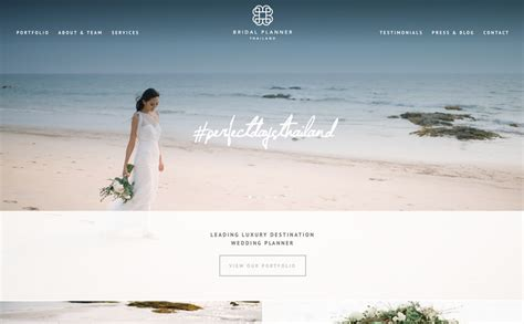 The Bridal Planner by The Best Designs Web Design Inspiration The Bridal