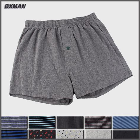 bxman 100 knit cotton high quality boxer shorts s
