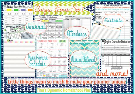 homeschool lesson planner pages 7 step curriculum planner