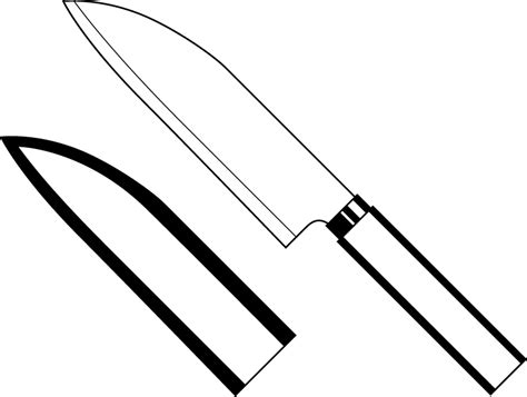 coloring pages knife knife clipart colouring pages cliparts co