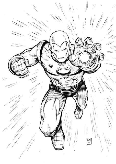 free coloring pages of iron man logo