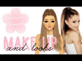 Stardoll transformation ariana grande makeup and looks youtube
