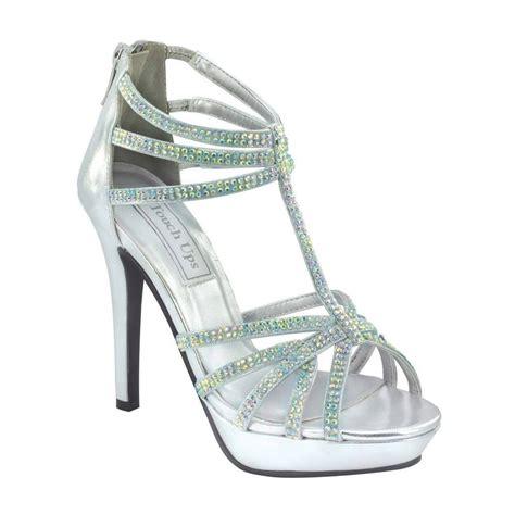 silver rhinestone touch ups toni formal prom bridal 4