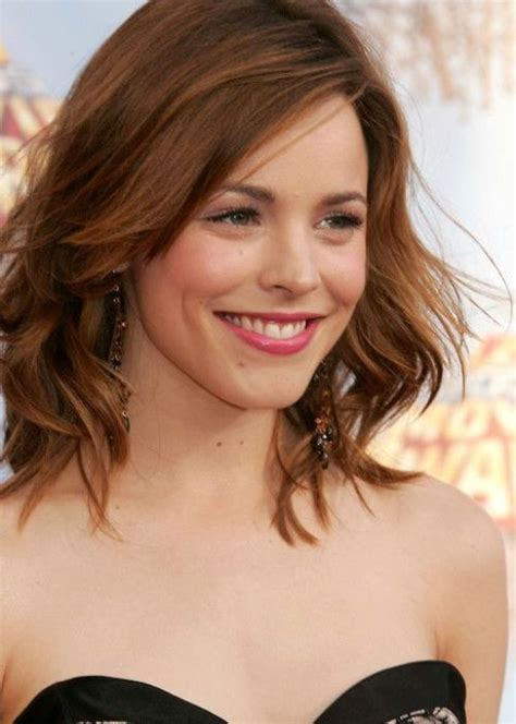 top 100 bob hairstyles herinterestcom bobs rachel mcadams and bob hairstyles on pinterest