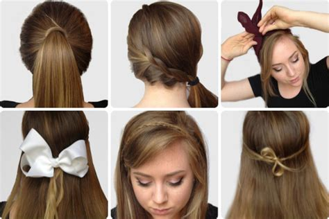 easy and simple hairstyles to do at home 6 super easy hairstyles for finals week college fashion