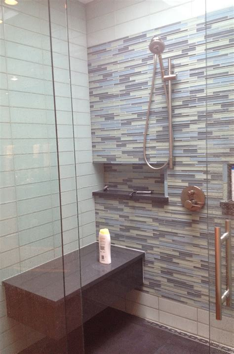 showers with bench built in built in shower bench pollera org
