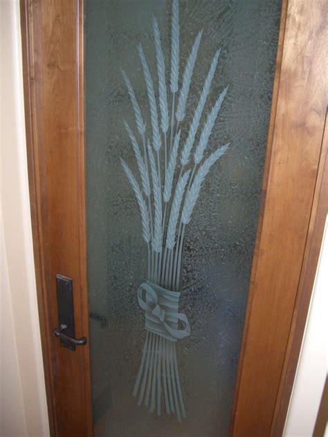 pantry door glass etched carved  sans soucie sans