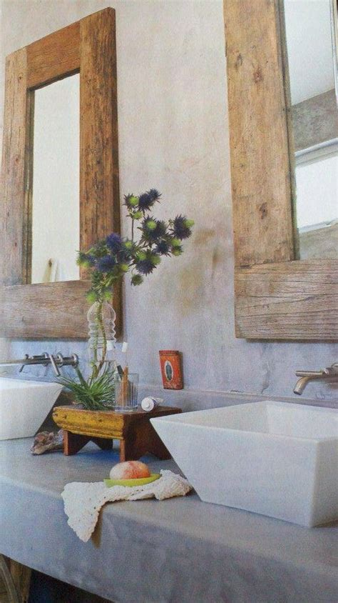 best 25 reclaimed wood mirror ideas only on