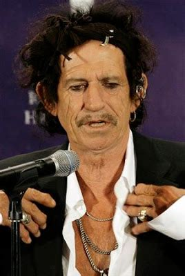 Keith Richards I Snorted My by Mad Melancholic Feminista April 2007