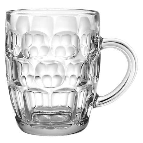 buy barware online buy john lewis beer dimple tankard glass john lewis