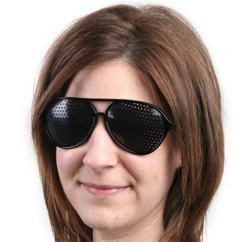 glasses for better vision stenopeic pinhole glasses for improve eyesight vision