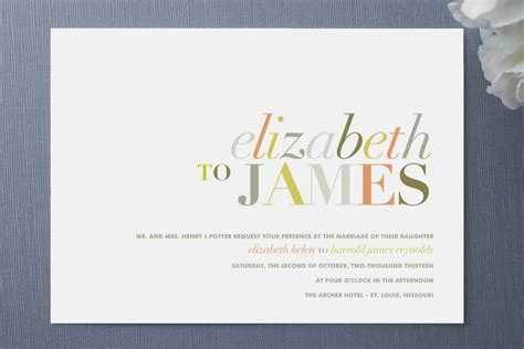 Wedding Invitation Font Combinations by Great Font Combinations For Your Wedding Invitations