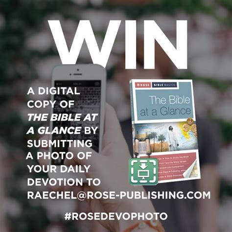 Car Sweepstakes Ending Soon - don t forget to enter our devotional giveaway no purchase necessary rose publishing