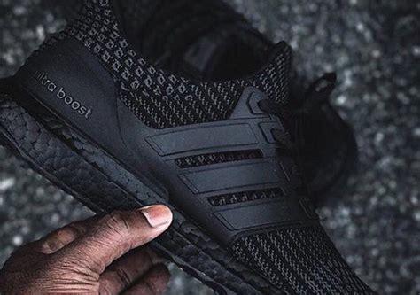 adidas ultra boost 4 0 triple black adidas ultra boost 4 0 triple black sneakernews com