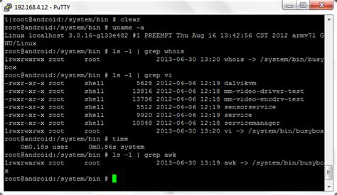 android shell commands testing by expl0i13r android busybox and linux commands