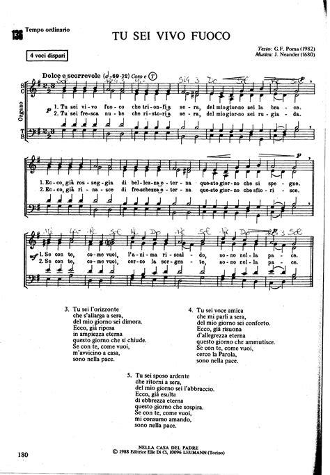 agnus dei testo spartiti dei canti