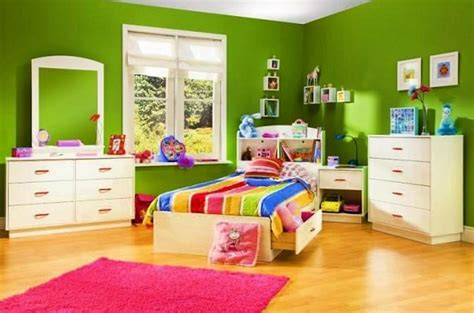 green paint color ideas  kids bedroom home interiors