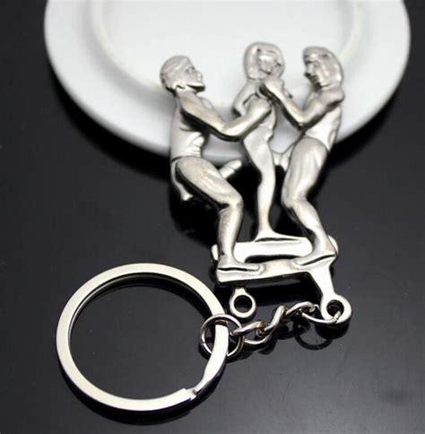 new 8 design adult s delight keychain eros key ring