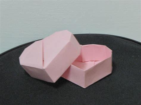 3d origami heart box tutorial origami heart box origami heart box design robin glynn