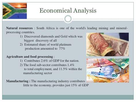 Pestle analysis manufacturing industry