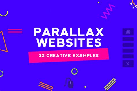 web design parallax effect websites design with parallax effect 32 creative