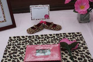 Leopard And Pink Baby Shower Decorations by Leopard Print Baby Shower Decorations Best Baby Decoration