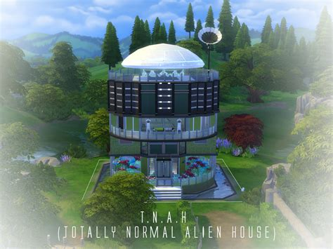 alien house a3on97 s t n a h totally normal alien house