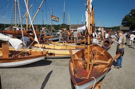 wooden scow for sale the woodenboat show mystic seaport