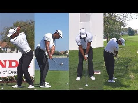 pga tour golf swings tiger woods swing 2014 slow motion tiger woods 5 iron