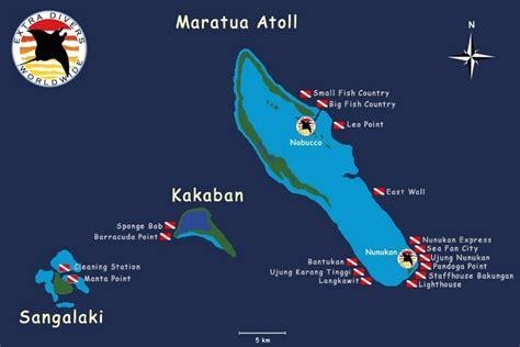 nunukan island resort maratua atoll kalimantan