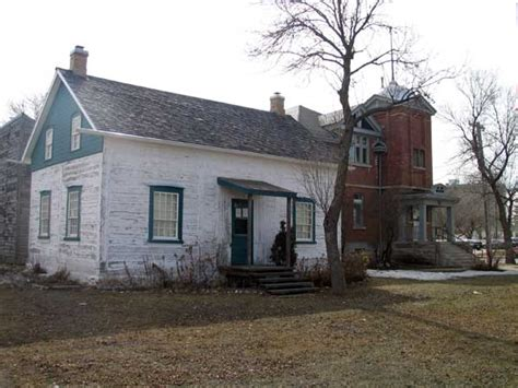 james brown house historic sites of manitoba assiniboia municipal hall st james assiniboia