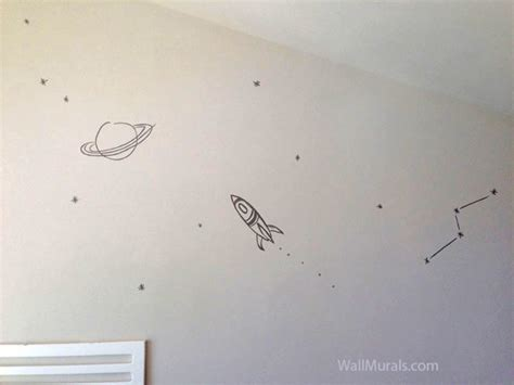 Outer Space Wall Murals space wall murals examples custom outer space wall murals
