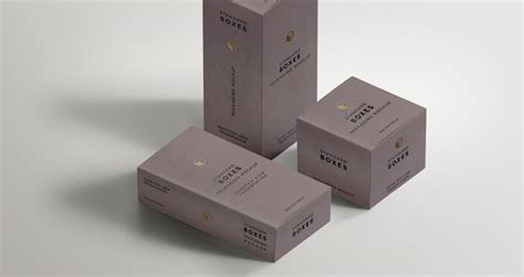awesome boxes awesome minimal standard packaging box mockups minimal