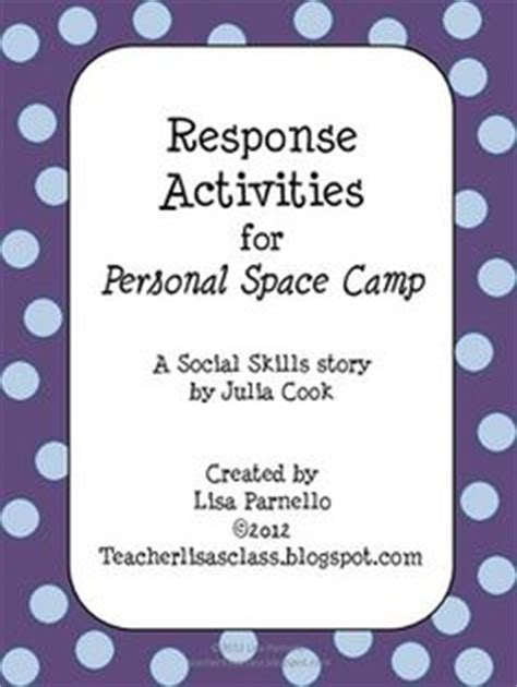 Pdf Cook Personal Space C Activities by Teach Them To Fly Personal Space C Personal Space