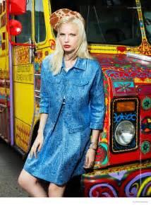 blondie style anna piirainen  matallana  blank magazine fashion  rogue