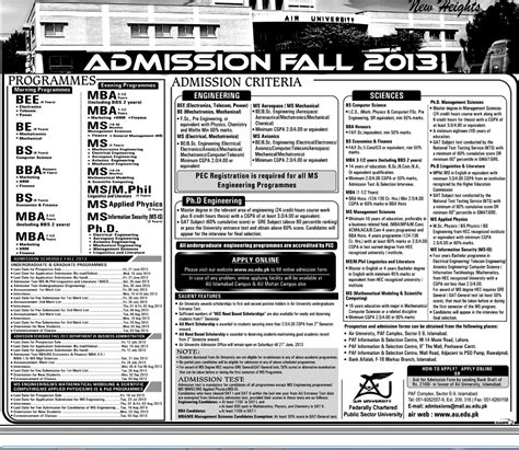 Brock Mba Tuition by Air Admission Fall 2013
