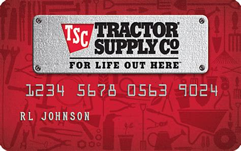 Tractor Supply Gift Card Locations - financing and credit cards tractor supply co