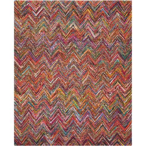 nantucket rugs safavieh nantucket pink multi 9 ft x 12 ft area rug nan143a 9 the home depot