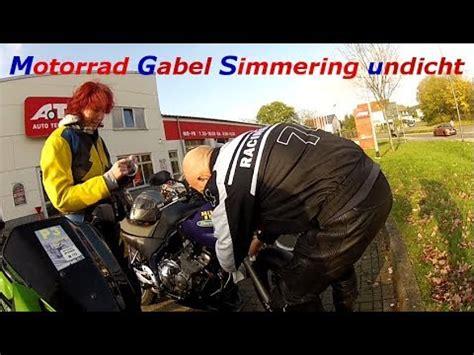Motorrad Gabel Video by Motorrad Gabel Simmering Undicht Youtube