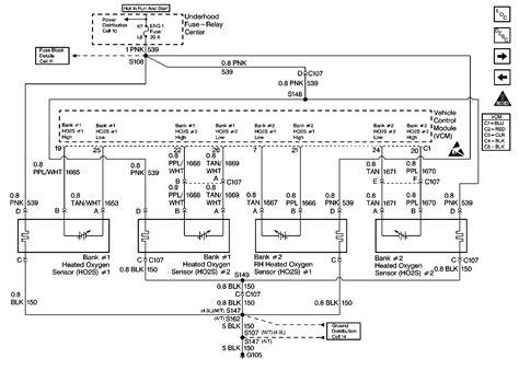Gm 4 Wire Oxygen Sensor Wiring Diagram Wiring Library