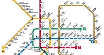 Taipei Metro Map by Taipei Mrt Rapid Transit Subway 台北捷運 Guide To Taipei Com