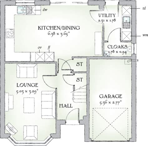 redrow oxford floor plan 4 bedroom detached house for sale in okehton road