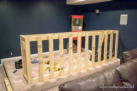 man cave wood pallet bar  diy plans wood pallet
